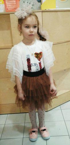 Girls skirts brown tutu skirts tutus fluffy skirt for baby girls 3-8 Years pettiskirt チュチュスカート spódnica Tutu юбка балетной пачк photo review