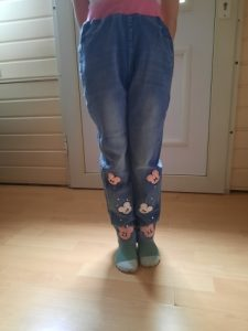 2021 Autumn Children's Clothes Girls Jeans Casual Slim Thin Denim Baby Girl Jeans For Girls Big Kids Jeans Long Trousers photo review