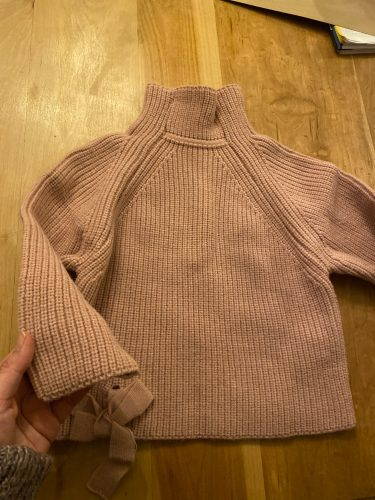 Children Baby Sweaters Solid Color Turtleneck Boys and Girls Sweaters Knit Kids Pullover Casual Baby Girl Clothing 1-5 Y photo review