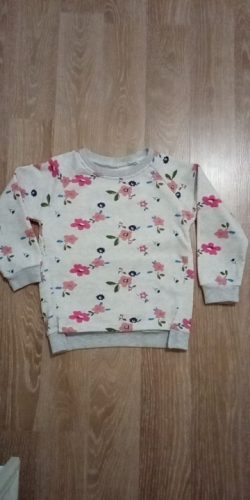 autumn new children's wear Korean version, girl's sweater, bottoming shirt flower collar sweater. photo review
