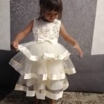 2018 Kids Elegant Pearl Cake Princess Dress Girls Dresses For Wedding Evening Party Embroidery Flower Girl Dress Girl Clothes photo review