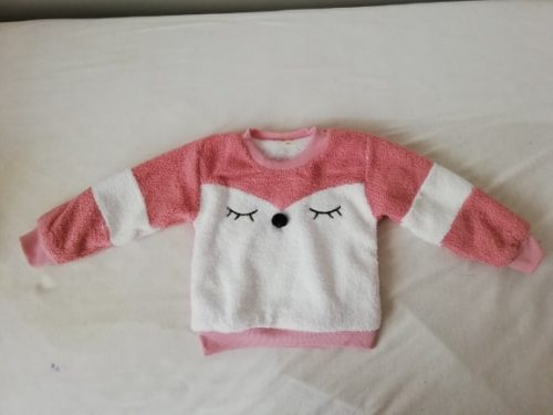 Warm Toddler Boys Girls Sweatshirts Autumn Winter Coat Sweater Baby Plus velvet thicken Outfit kids Warm clothes Cheap Promotion photo review