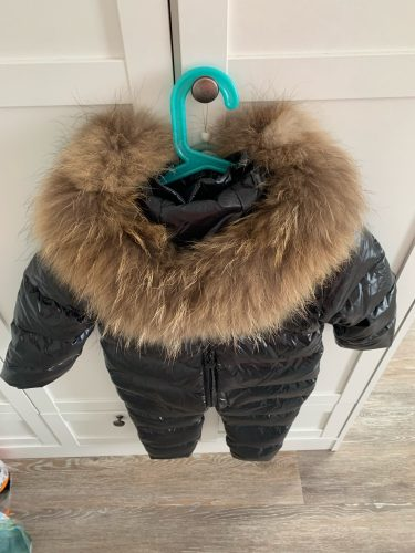 Cheap degree Russian winter children's clothing down jacket boys outerwear coats , thicken Waterproof snowsuits Girls Clothing photo review