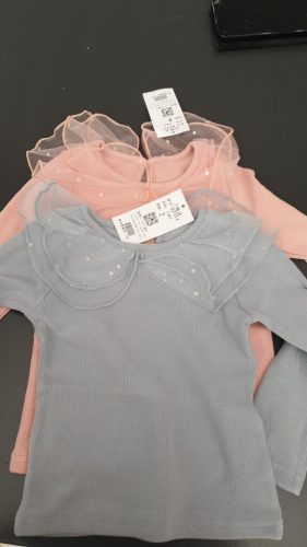 Girls Cardigan Jackets 2020 Fall Winter New Baby Cute Sweet Girls Clothing Kids Children Top Lace Lapel Jacket For Girls Autumn photo review