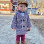 Baby Boy Girls Woolen Jacket Long Double Breasted Warm Infant Toddle Lapel Tweed Coat Spring Autumn Winter Baby Outwear Clothes photo review