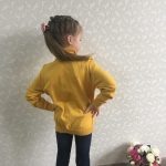 Baby Girl Winter Clothes Solid Kids Knitted Sweater Soft Clothing for Girls Turtleneck Children's Clothing from 2 to10 Years Old photo review