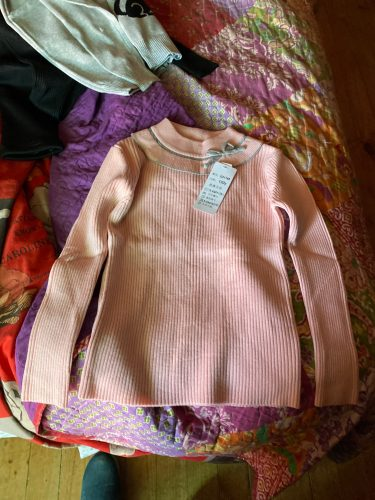 2020 Fashion Spring Girls Sweaters Turtlrneck Girls Sweater 2-12 Years Children Clothing Sweaters photo review