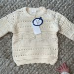 New 2020 Kids Girls Long Sleeve Knit Lace Sweater Autumn Winter Baby Clothing Girls Pullover Sweaters 1-7Yrs photo review