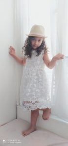 Summer Toddler Girls Lace Cake Dress Kids Sleeveless Floral Mesh Wedding Dresses Children Clothing For Baby Girls 3 to 8 Years photo review