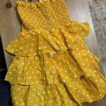 HE Hello Enjoy Girls Dresses 2021 Summer Teenagers Dot Sling Princess Cake Elegant Children Kids Clothes Girl Dress 4 8 10 Years photo review