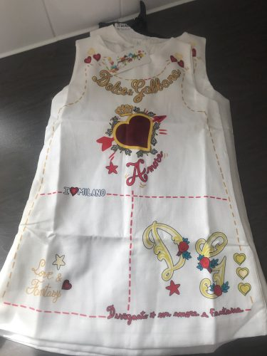 Girls Dress Spring Fall European and American Style Embroidery Flower Vest Dress Toddler Baby Girls Clothing 2-8Yrs photo review