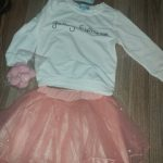 2021 New Girls Dress Autumn Spring Cute Mesh Long Sleeve Princess Dress for Girl Kids Party Dress 2 6 7 Years Kids Clothing photo review