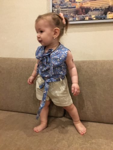 Girls Clothing Sets 2019 Summer Cotton Vest Two-piece Sleeveless Children Sets Casual Fashion Girls Clothes Suit photo review