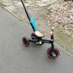 5 in 1 Children's Scooter Multifunctional Baby Stroller Tricycle Bike Foldable Portable Balance Kids Walker for 1-6 Years Old photo review