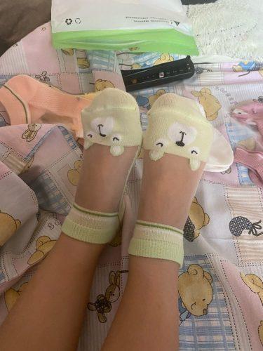5 pairs 3-12 years old children's socks all genders Mesh Cotton Class A boys kids socks KS-2 socks for girls photo review