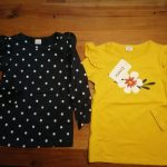 PatPat 2021 New Arrival Autumn and Spring 3-pack Girls T-shirt Floral Dots Long-sleeve Tee Sets Children Clothing photo review