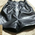 2020 New autumn winter Kids faux leather Shorts pants For Girls baby Princess Children 6 8 10 12 years photo review
