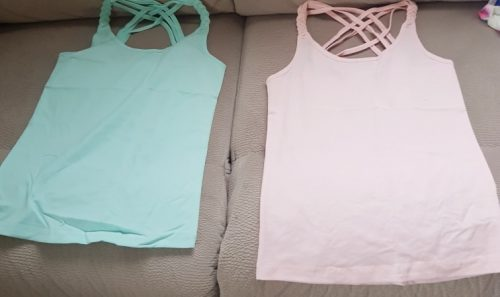 Summer T Shirt For Girls Candy Color Children Tops Teenage Clothes Cotton Kids T-shirts 1-14years Camisole Baby Undershirt photo review
