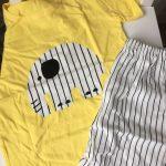 Pajamas Boy Girl Clothes Baby Cotton Short Sleeve T Shirt Short Pyjamas Pijamas Set Cartoon Clothing Baby Pyjamas Set photo review