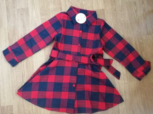 Top quality autumn girls cotton long sleeve blouse vintage plaid school girls shirts toddler casual tops baby clothes autumn photo review