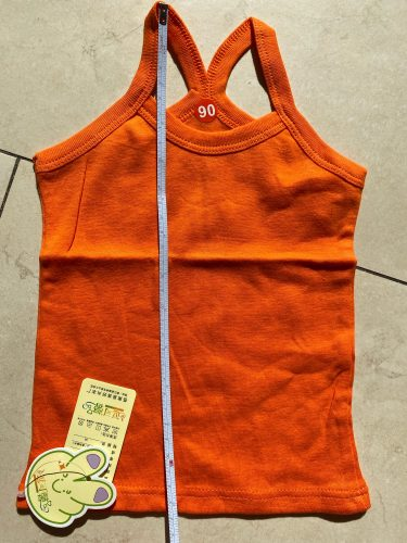 2-11Y Girls Casual Vest Children Summer Clothing Kids Baby Boy Sleeveless Tops Solid Color T-shirt Tees Outfit Toddler Girl Top photo review