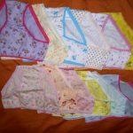 12pcs /Lot Baby Girls Briefs Cartoon Underwears Children Panties Short Underpants Kids for 1-12 Years photo review