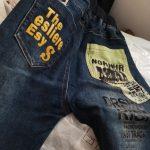 2021 New children's clothing kids boys jeans pants autumn baby 3 to 14 years old korean boy leggings winter plus velvet trousers photo review