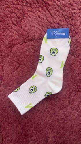 Disney Girl Casual Cute women Scoks Cartoon animal Mickey Duck ladies Socks Cotton happy Funny street adult Middle tube sock photo review