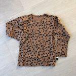 Spring Autumn Baby Boys Girls Pajamas Set 18M-8yrs Children Kids Print Leopard Sleepwear Lounge Wear Cotton Girls Evening Dress photo review