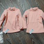 Embroidery Turtleneck Long Sleeve Blouse Girls Autumn Winter Clothes Bottoming Thicken Baby Clothing Children Cotton Tops Blouse photo review