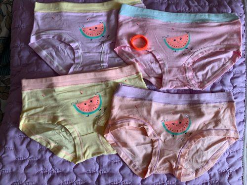 4pcs/lot Children Underwear 2021 New Girl Boxer Cotton 2-16 Year Kids Baby Cartoon Panties Big Girl Underwear Bragas Calcinhas photo review