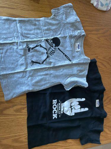 2019 New Summer Boys T Shirt Fashion Print Kids T Shirt For Boy Cotton Short Sleeve Baby Girls T Shirt Children's Clothes Brand photo review
