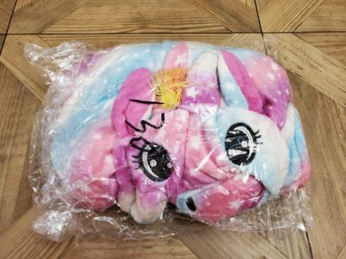 Girls Boys Winter Kigurumi Pajamas Unicorn Cartoon Anime Animal Onesies Kids Sleepwear Flannel Warm Jumpsuit Children Pajamas photo review