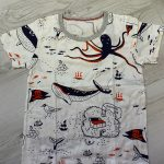 BINIDUCKLING 2PCS Children's Outfit Sets Boys O-Neck T-Shirt and Shorts Summer Casual Cartoon Fish Print Kids Boy Cotton Clothes photo review