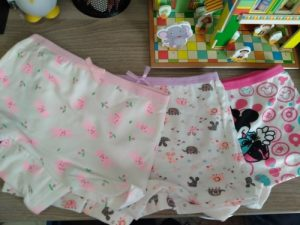 4Pcs/lot Cartoon Kids Girl Underwear For Baby Children's Boxer Underpants Briefs Girls Underware Pants For 2-9 Y photo review