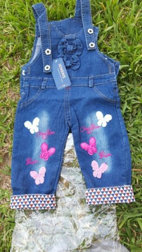 IENENS Kids Baby Girls Clothes Clothing Trousers Jumpsuit Playsuit Toddler Infant Girl Long Pants Denim Jeans Overalls Dungarees photo review