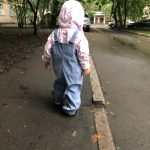 2021 Baby Girls Trousers PU Windproof Toddler Boys Rain Jumpsuit Waterproof Children's Overalls Spring Pants Clothes for Kids photo review