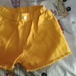 Girls Shorts 2020 Summer Slim Hot Pants For Girl Children Casual Trousers Hole Kids Shorts Candy Color Teenager Clothing photo review