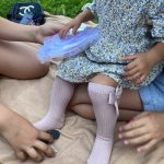 Solid Children Socks With Bows Cotton Baby Girls Socks Soft Toddlers Long Socks For Kids Princess Knee High Socks for Girls 2020 photo review