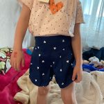 Summer Baby Kids Children Girls Toddler Candy Color Heart Print Shorts Pants Clothes For 2-10 Years K213201 photo review