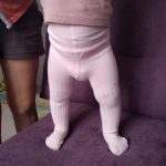 2020 Spring Knitted Baby Pantyhose For Girls Twist Children Bottom Toddler Kid Girl Ribbed Stockings photo review