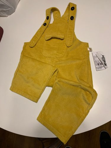 Halilo Baby Boy Overalls Solid Color Autumn Winter Corduroy Girls Jumpsuit Casual Loose Infant Kids Jumpsuit Pants photo review