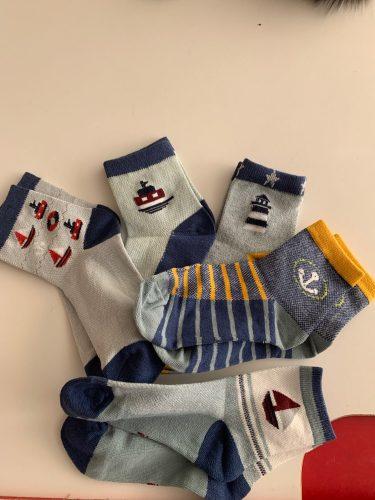5 Pairs / Lot Kids Socks 2019 New Spring Summer Cotton Breathable Mesh Boys Girls Socks 3- 15 Year Children Socks photo review