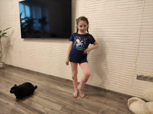 Girls Leggings 100% Cotton Boy's Trousers Fille Kids Pants Girls Pants Skinny Print Cartoon Pattern Children Leggings Trousers photo review