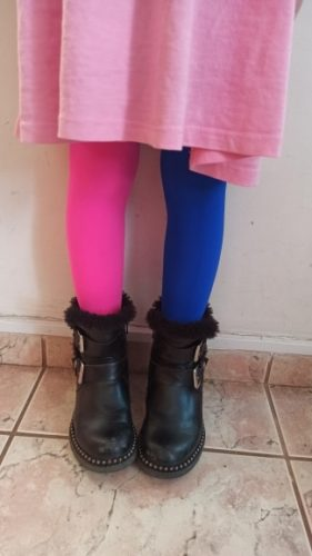 Girls candy color tights for baby kids cute velvet pantyhose contrast Combination color girl spring/autumn warm dance stockings photo review