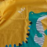 95%COTTON Boys T Shirts Spring Autumn Long Sleeve Tops Kids Dinosaur Sweatshirt Children Boy Shirts Clothing Boys Clothes photo review