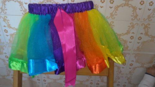 2020 3M-8T Mini Pettiskirt Party Dance Tutu Skirt Baby Girl SkirtsPrincess Rainbow Tulle Skirts Girls Clothes Children Clothing photo review