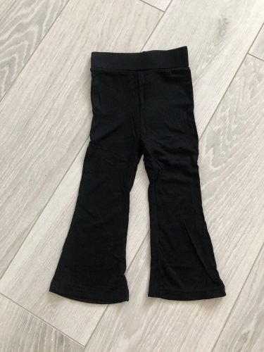 2021Children's Pants Girls' Solid Gray And Black All-match Leggings Cotton Children's Pants Spring And Summer Boot Cut Pant photo review