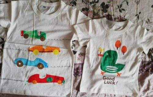 Kids T Shirts Summer Boys Girls Short Sleeve Print Baby Toddler Children Cotton Tops Tees Clothes White New 2020 Clothing photo review