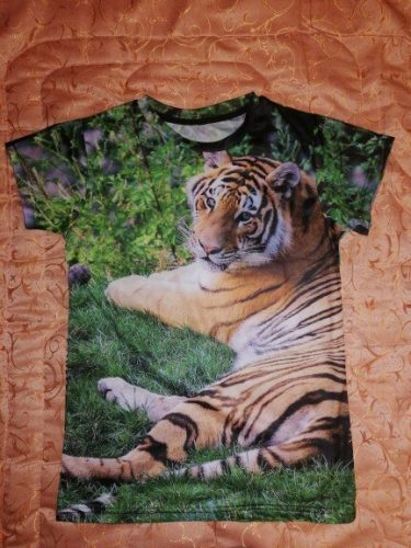 Anime T-Shirt Oversized Children's Short Sleeve Lion 3D Print T-Shirts Boy Kid Boys and Girls Tops T-Shirt Summer Clothes photo review